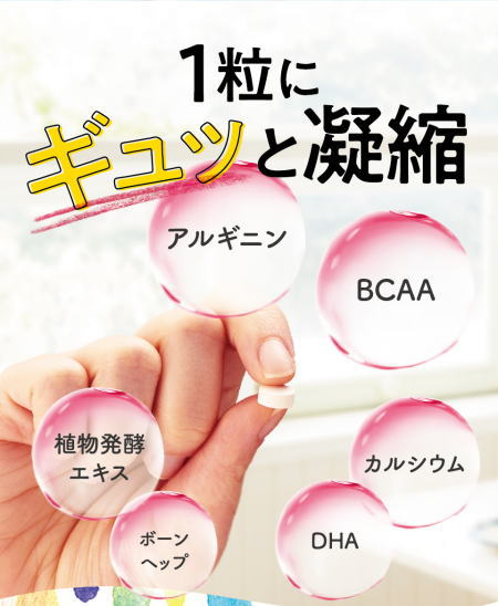 セノビーム注目の成分(栄養素)